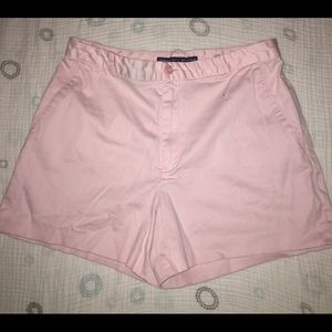 Light Pink Ralph Lauren Golf Shorts